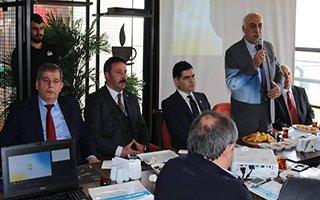 Mahmut Uykusuz projelerini tanıttı
