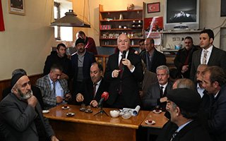 Sekmen: Erzurum'a Hizmet Boynumuza Borçtur