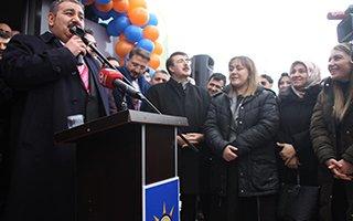 AK Parti Palandöken SKM açıldı