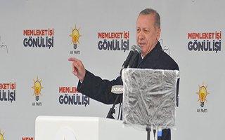 Erdoğan: Dadaşlarla buluşmak bize güç veriyor