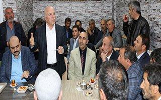 Başkan Sekmen Aziziye sakinleri ile buluştu