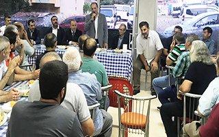 Karataş İstanbul'da hemşerileri ile buluştu