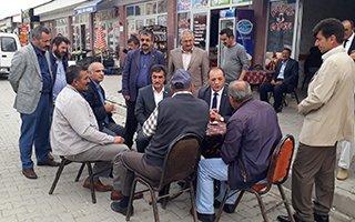 MHP'li Naim Karataş Ilıca esnafını ziyaret etti