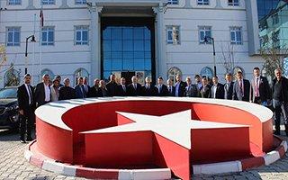 Çat Belediyesi'nde yerel yönetim buluşması
