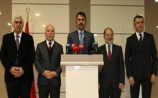 Bakan Kurum Erzurum'da yatırımları inceledi