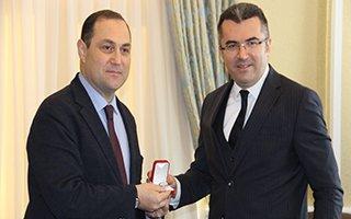 Gürcistan Büyükelçisi Erzurum'a geldi