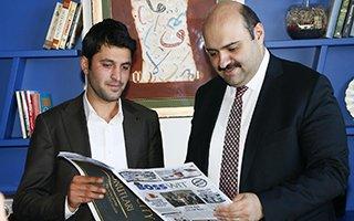 Başkan Orhan'dan yeni işletmelere sürpriz ziyaret