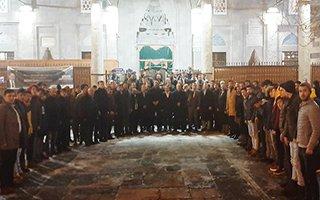 Erzurum Ülkü Ocakları Fırat Çakıroğlu'nu andı