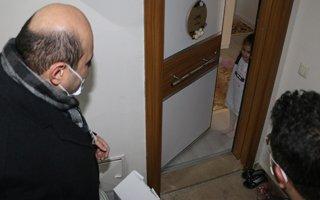 Başkan Orhan küçük Zeynep'in yüzünü güldürdü