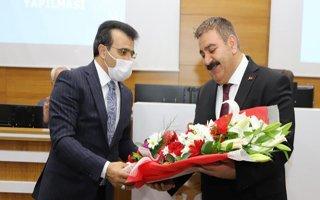 Başkan Sunar'a sürpriz Avukatlar günü kutlaması