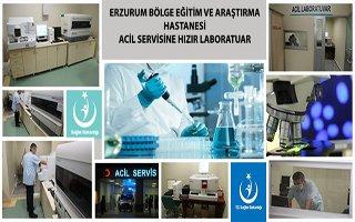 BEAH Acil Servise Hızır Laboratuvar Kuruldu