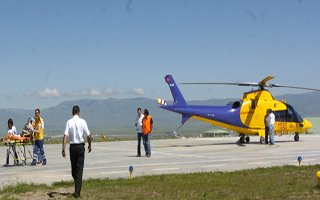 Helikopter Ambulans 302 Can Taşıdı