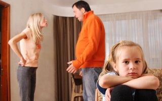 Çocuklar kavga eden anne-baba istemiyor