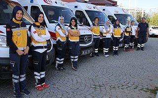 Erzurum 112 Acil Sağlık Ekipleri Şifa Dağıtıyor