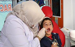 Büyükşehir'den Ağız Ve Diş Sağlığı Taraması