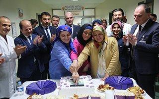 Erzurum BEAH'ta prematüre pastası!