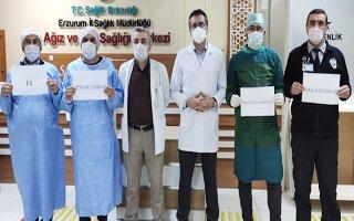 Ağız ve Diş Sağlığı hekimlerinden anlamlı destek