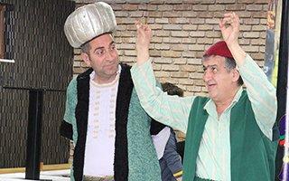 Seyri Alem sahnesinden Ramazan eğlencesi