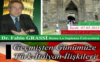 Roma La Sapienza Erzurum'da!