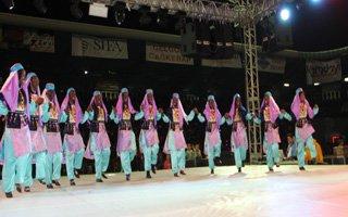 Erzurum'da Olimpiyat coşkusu