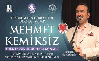 Erzurum'da Tasavvuf Musikisi Konseri