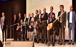 Büyükşehir Belediyesi Aşık Reyhani'yi Andı