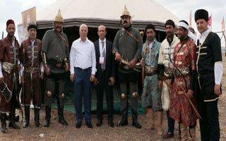 Erzurum Dünya Etnospor Kültür Festivalinde