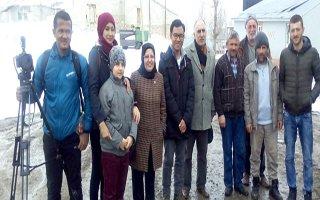 Erzurum ve ehram Endonezya televizyonunda