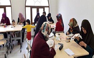 İşitme Engelli Hanımlara El Sanatları Kursu