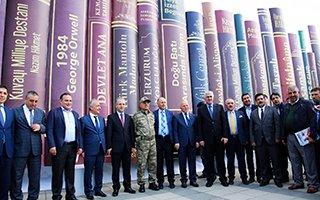 Erzurum Kitap Fuarı Açıldı