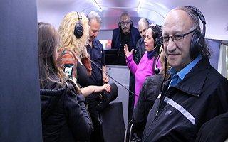 TRT FM 90'ıncı yılda 90 yayın otobüsü Erzurum'da
