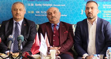 """Erzurum'da """"100'müz özümüz bir"""" programı"""