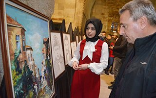Erzurum'da tarihi medresede ilklerin sergisi