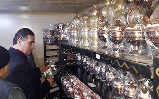 Bakır İşlemeciliği Erzurum'da hayat buluyor