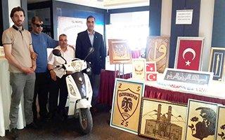 Erzurum Engelliler Meclisinden sanatsal sergi