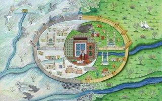 Yaz ve kış ile Erzurum minyatürü beğeni topluyor