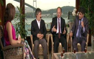 Erzurum'un üç gururu aynı stüdyoda buluştu