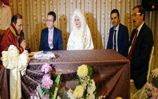 Mahmut Akdağ'da evliler kervanına katıldı