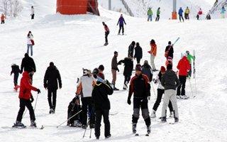 Palandöken Kayak Merkezi rengarenk!