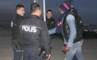 Pascal Nouma Polisleri es geçmedi!