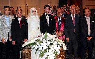 Ak Parti teşkilatını buluşturan düğün