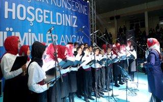 Büyükşehir'in kardeşlik konserine büyük ilgi