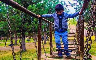 ATA Botanik'te çocuklar için mini survivor parkı!