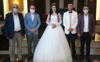 Gazeteci Nesrin Çetinkaya dünya evine girdi