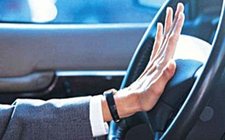 Klakson çalarak rahatsız eden sürücüye ceza