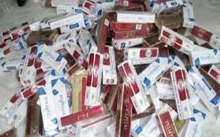 Erzurum'da 1 ayda rekor kaçak sigara