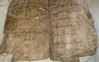Erzurum'da ''tarihi kitap'' operasyonu