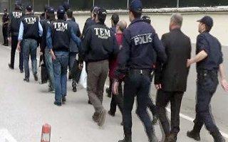 Erzurum'da 15 FETÖ'cü tutuklandı
