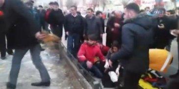 Erzurum'da iki kişi ayaklarından vuruldu