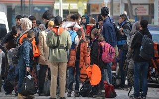 Pasinler'de 44 mülteci yakalandı